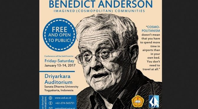 International Conference on Reviving Benedict Anderson: Imagined (Cosmopolitan) Communities
